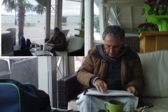2010  Π.Κ.  Πρέβεζα ατομική έκθεση Τα σχέδια του καφέ
