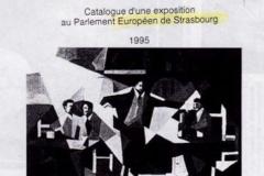 1995 Στρασβούργο Φουαγιέ Ευρωκοινοβουλίου. «Ευρωπαίοι καλλιτέχνες»