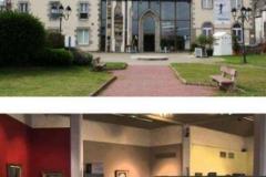 1997 Γαλλία Γκρανβίλ Οκτώβριος αίθουσα Μουσείου «Ανακρέων». «Ευρωπαίοι καλλιτέχνες»