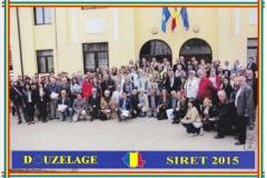 2015 Ρουμανία Απρίλιος. Siret (Duzelage). «Ευρωπαίοι δημιουργοί της Douzelage»