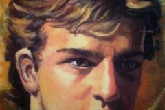 Πορτρέτα 1989 λάδι 9